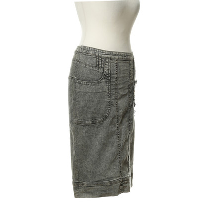Christian Lacroix Denim rok met hart detail