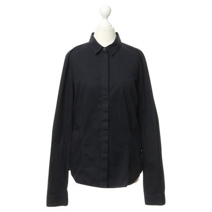 Jil Sander Classic blouse in dark blue