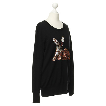 Markus Lupfer Sweater with sequins embroidery