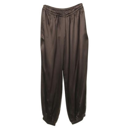 Lanvin Zijde broek in Brown