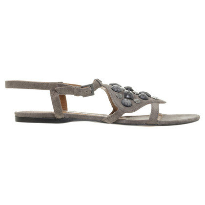 Boss Orange Sandalen met semi-edelstenen