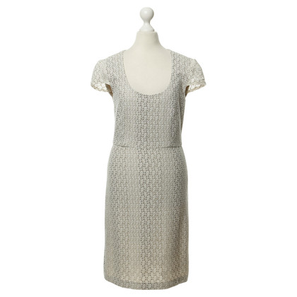 L'Agence Sheath dress with lace