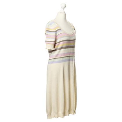 Iris von Arnim Cashmere dress with stripe