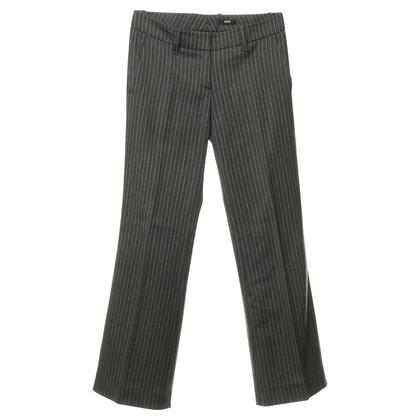 Hugo Boss Pinstripe pants wool