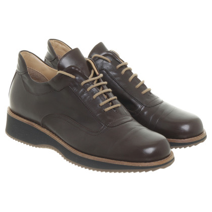 Other Designer Attilio Giusti Leombruni - dark brown lace-up shoes