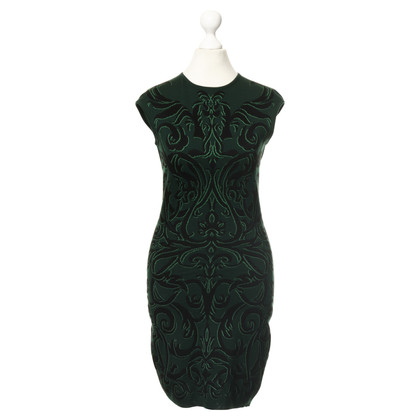 Alexander McQueen  Knit dress with Baroque patterns