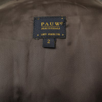 Other Designer Pauw - leather wrap skirt