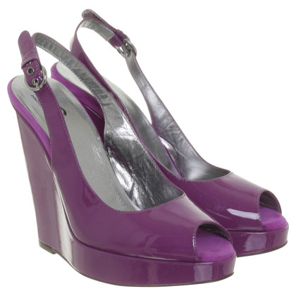 Dolce & Gabbana Wedges in violet