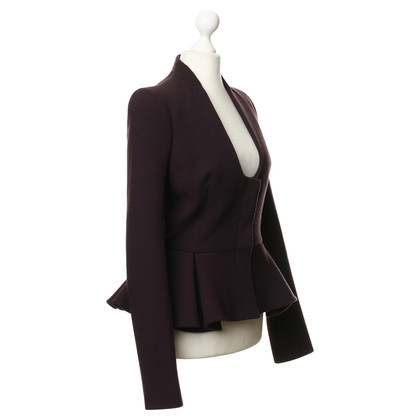 Alexander McQueen Jacket with peplum