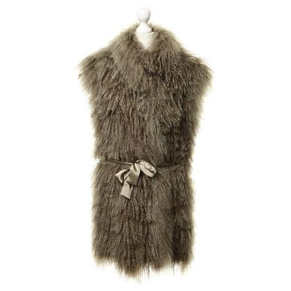 Altre marche R L & - gilet di pelliccia di agnello