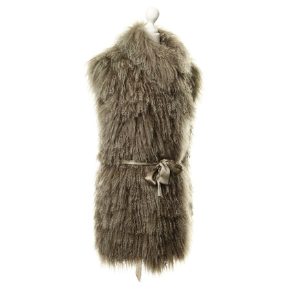 Other Designer R & L - lamb fur vest