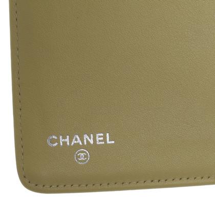 Chanel Portafoglio in giallo pastello