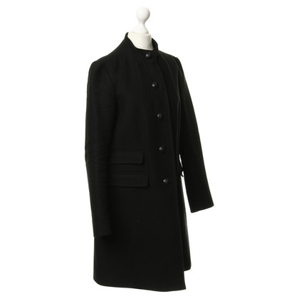 French Connection Coat with decorative buttons
