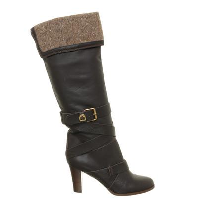 Chloé Laarzen met breien element