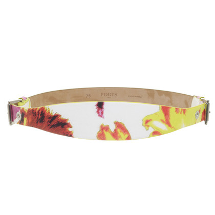 Ports 1961 Colorful waist belt