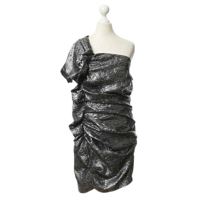 Silver One Shoulder Dresses