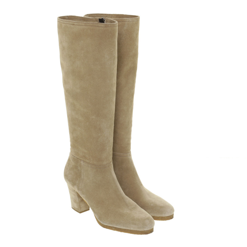 Car Shoe Beige boots