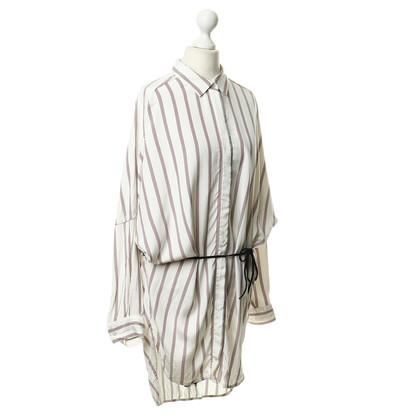 Maje Hemdkleid mit Streifen