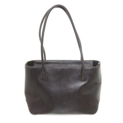 René Lezard Brown shoulder bag