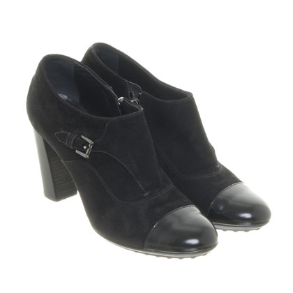 Tod's Black ankle boots