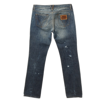 D&G Jeans im Used-Look