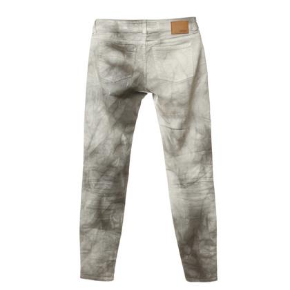 Drykorn Jeans met batik patronen