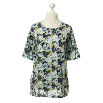 MSGM T-shirt with floral print