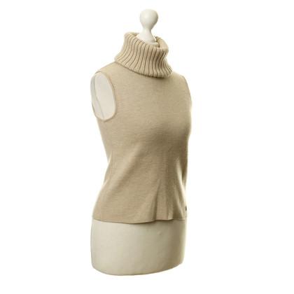 Chanel Top in maglia collo alto