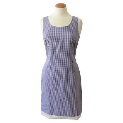 Hugo Boss Vichy gingham print sheath dress