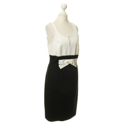 Paule Ka dress in black and white