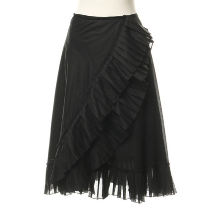 DKNY skirt with folding stock