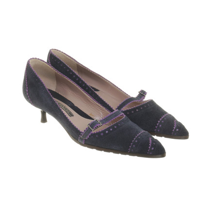 Pollini pumps dark blue