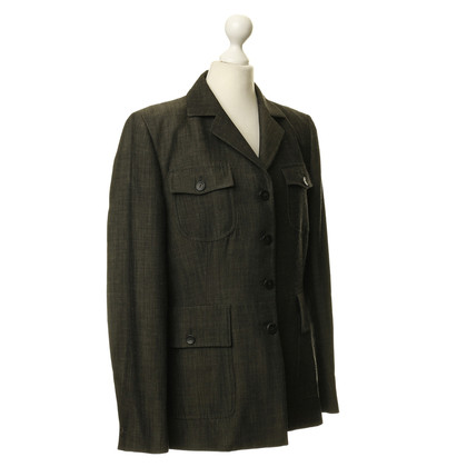 Nusco Blazer in verde scuro