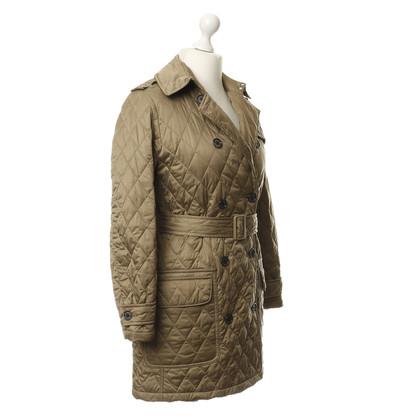 Barbour Quilted coat in beige