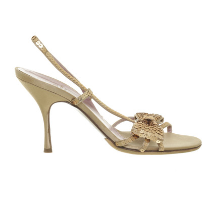 Moschino Cheap and Chic Geborduurde sandalen