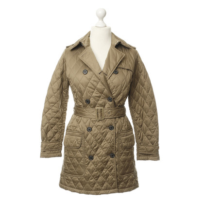 Barbour Gewatteerde jas in beige