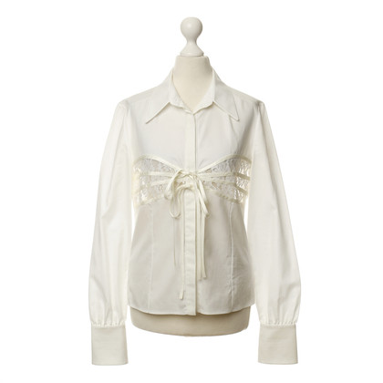 Valentino Blouse with lace insert