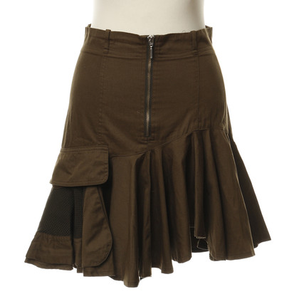 Plein Sud skirt in the military look