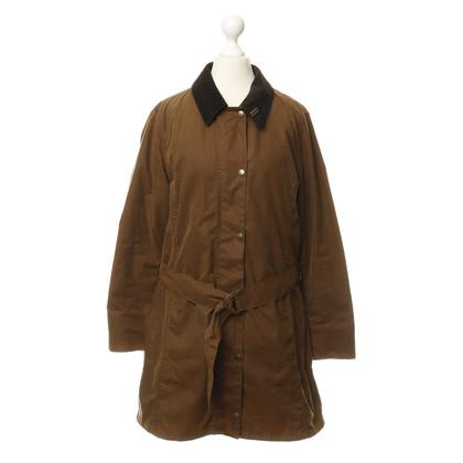 Barbour Mantel aus gewachster Baumwolle