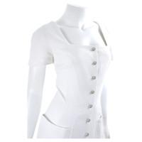 Mugler Dress in white