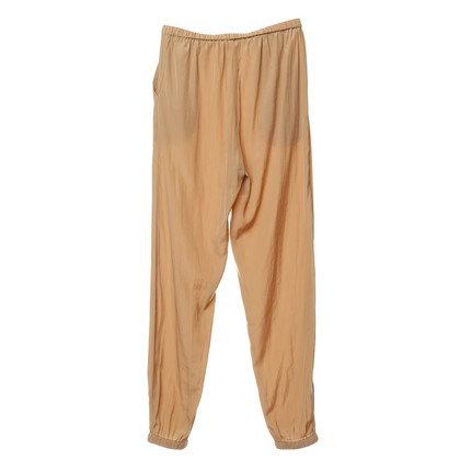 American Vintage Stoffhose in Caramelfarben