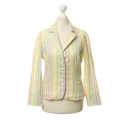 Blumarine Colorful Blazers with stripes