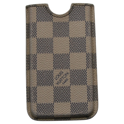 Louis Vuitton iPhone case hard case in Damier Azur