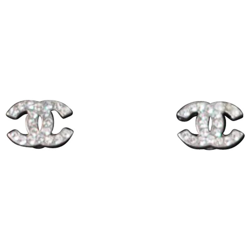 Chanel ohrringe cc logo