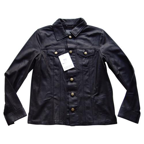 e6ccafbb403 Current Elliott Leather jacket - Second Hand Current Elliott Leather ...