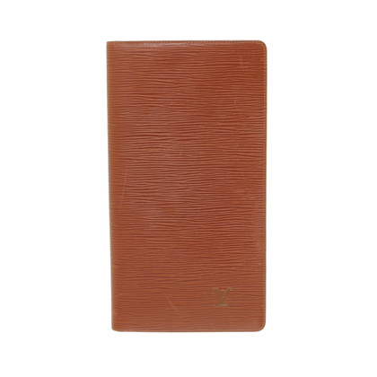 Louis Vuitton Porte Cartes EPI leather Kenyan Brown