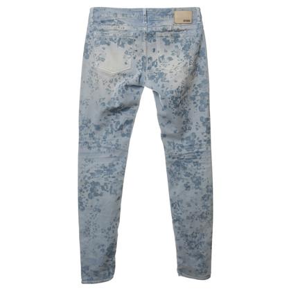 Drykorn Jeans met bloem-print