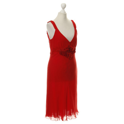 Marc Cain Silk dress in red