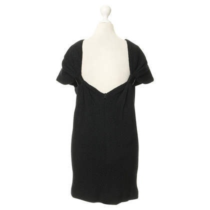 Balenciaga Seidenkleid mit Textur