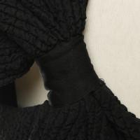 Balenciaga zijden jurk met textuur